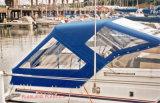PVC transparente para ventana cubierta del barco