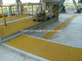 ISO9001 reja anticorrosiva de la fibra de vidrio FRP para Palnts químico