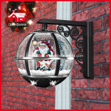Neues Classic Christmas Snowing Wall Lamp mit LED Lights