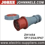 Standard europeu Male Industrial Plug Use em Wharf