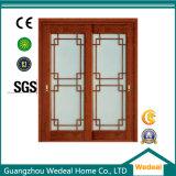 Binnenlandse Houten Deur voor Zaal met Glas (wdm-079)