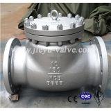 API 600 libras de acero al carbono Válvula de retención oscilante (H44H / H44W)