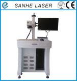 Plástico/reloj calientes del grabado de la máquina de la marca del laser de la fibra de la exportación de China