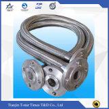 Mangueira trançada de solda de /Metal da mangueira do metal flexível de aço inoxidável para o óleo diesel da entrega