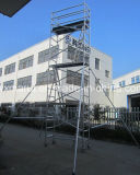Échafaudage en aluminium de largeur simple de la CE de GV pour la décoration