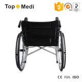 Topmedi Meidcal装置の安い価格の病院のFoldable鋼鉄手動車椅子