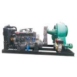 Pompe centrifuge de asséchage de diesel de l'eau d'eaux d'égout de détritus