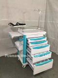 Krankenhaus medizinische ABS Emergency Karren-Laufkatze
