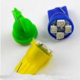 12V 4SMD 1210 194 bulbo de W5w T10 LED para la lámpara colorida de las luces de inversión del billar automático del coche LED