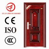 Puerta de acero de la seguridad del diseño de la puerta de Turquía para el apartamento