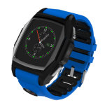 MultifunktionsSmart Watch Support GPS Position, Heart Rate Monitor, SIM Card, usw.