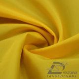 Agua y de la ropa de deportes tela tejida chaqueta al aire libre Viento-Resistente claramente 100% del filamento del poliester abajo (J005B)
