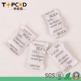 gel de silicona desecante 2g con el embalaje de papel compuesto