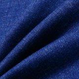 Baumwolldickflüssiges Polyesterspandex-Denim-Gewebe für Frauen-Jeans