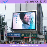 Outdoor Full-Color LED Moving Message Sign Board para Publicidade
