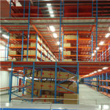 Mezzanine resistente Floor Rack con Carton Flow Rack