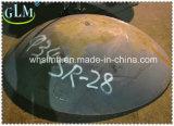 Grande protezione di rame capa emisferica del acciaio al carbonio