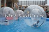 Water inflável Walking Ball D1003a com Reinforced Soft Handle, Human Hamster Ball, Zorbing Ball