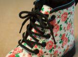 2016 chaussures florales de fille de configuration de type neuf (TX 20)