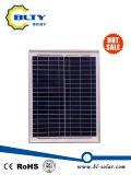 pila solare a energia solare dei moduli 20W del comitato solare di PV poli