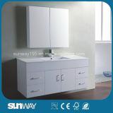 Vaidade do banheiro do MDF da pintura do estilo de Austrália com dissipador (SW-W750B)