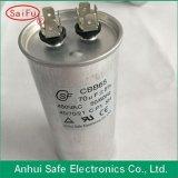 Condensador corriente plástico 5~65UF del motor de CA Cbb65 de la fábrica de China