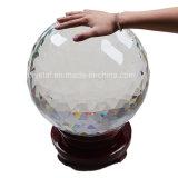 """Большой огромный 12.6 """" ясных граненных кристаллический шариков"""