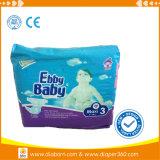 Pañal no tejido disponible del bebé de Ebby de la alta calidad estándar de Europa