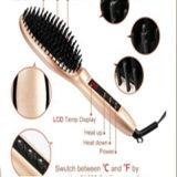 Cepillo de la enderezadora del pelo de la calefacción del Mch con la visualización del LCD