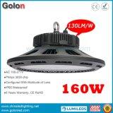 Il buon prezzo elevato IP65 di lumen 130lm/W impermeabilizza gli alti montaggi dell'indicatore luminoso della baia di Dimmable 240W 200W 160W 150W 100W LED