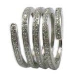 Серебр ювелирных изделий 925 способа стерлинговый с конструкцией R10573 CZ Sotne новой