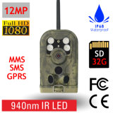Long Range 8MP 940nm Preto IR Mobile MMS / GPRS / Email Trail Scouting Hunting Game Camera