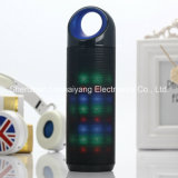 Drahtloser mini beweglicher Bluetooth Lautsprecher mit buntem Licht-Unterstützungs-TF-Karte U-Platte des Blitz-LED runde Kugel-Form-Lautsprecher