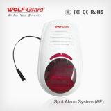 El sistema de alarma del punto del intruso se puede utilizar como el panel y sirena de alarma