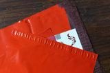 Saco de plástico impresso Cuatomizable vermelho do t-shirt