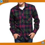 Chemise occasionnelle neuve mince de bouton de chemise de robe d'ajustement de longue chemise de Mens