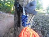 Base de suspensão do Hammock da rede de mosquito do malote para a caminhada de acampamento dos jogos de curso