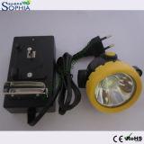 Imperméabiliser et lampe rechargeable de tête d'exploitation de l'Ex-Épreuve 2200mAh
