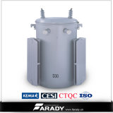 폴란드 Mounted 단계 아래로 15kVA Transformer Single Phase