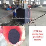 Doppeltes Stadium Plastik-pp. PET Film-Körnchen, die das Granulieren bilden, Maschine aufbereitend