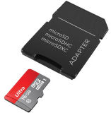 Capacity real Micro Memory Card TF Card Micro SD Card Ultra 1GB-2GB-4GB-8GB-16GB-32GB-64GB-128-256GB com 3 Years Sandisc Factory Warranty