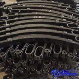 Remorque inférieure de plate-forme de bâti d'usine duelle d'essieu avec la qualité et le prix raisonnable