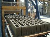 Vollautomatische Block-Ziegelstein-Straßenbetoniermaschine-Maschinen-Zeile