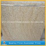 Natürliche gelbe Steingranite G682 für Bodenbelag-/Wand-Fliesen (mit Körnern)