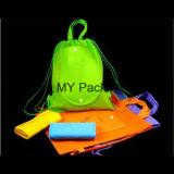 Backpack Drawstring изготовления OEM Non-Woven рекламируя мешок