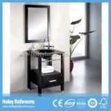 Vanité classique nette de cavité de salle de bains de type américain avec la barre d'essuie-main (BV164W)