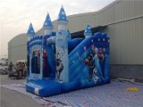 2016 Nouveau Design Frozen Jumping Bouncy Castle for Kids