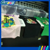 Impressora Flatbed do t-shirt da máquina de impressão de pano de Digitas A3 do preço de fábrica de Garros