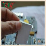 Pista conductora termal del silicón del acolchado termoaislador