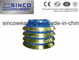 Hohe Mangan-und Chrom-Zerkleinerungsmaschine-Teile und tragende Teile